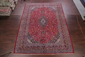 red navy blue area rug area rugs one of a kind mashad traditional persian hand knotted 9