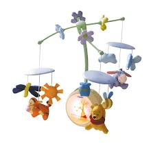 tomy winnie the pooh light up cot mobile
