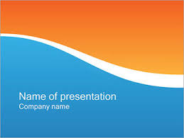 Blue And Orange Powerpoint Template Free Powerpoint Templates Google Slides Themes