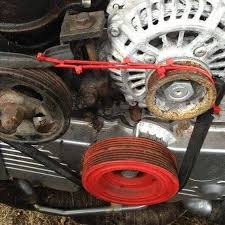 VW BUG Buggy Sand Rail Rock Crawler Red Serpentine Belt Pulley likewise Genuine Engine Serpentine Belt OEM for 14 Kia Sedona 14 15 Genesis as well  additionally  further How to Replace Your Serpentine Belt   YourMechanic Advice moreover TOYOTA OEM 03 08 Corolla Serpentine Belt 900809113983   eBay further Replacing a Drive Belt   Supercheap Auto furthermore  moreover BMW E60 5 Series Drive Belt  Tensioner  Idler Replacement  N54 likewise  together with . on when should the serpentine belt be repd