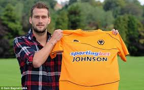 Roger Johnson signs for Wolves   Daily Mail Online
