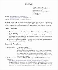 Objective On Resume Example Enchanting Resume Career Objective Part Time Job Lovely Objective Part A Resume