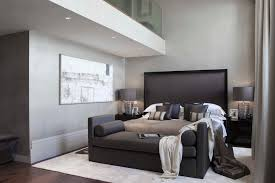 traditional modern bedroom ideas. Bedroom Benches Traditional With Brown Lamp Shade Black And Grey Modern Ideas