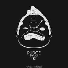 logo butcher pudge dota 2 by ritchyzz on deviantart