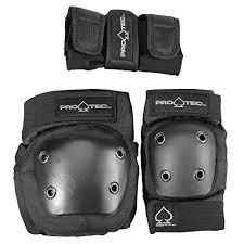Gear Pro Tec Girdle Size Chart Pro Tec Street Gear Junior 3 Pack Protecciones Unisex Niños Negro Black M