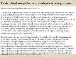 Top 10 Organizational Development Manager Interview Questions And Ans…