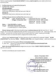 Rahasia supaya lulus tes kesehatan. Pengumuman Daftar Pelamar Yang Lulus Seleksi Berkas Cpns 2010 Kanwil Kementerian Hukum Dan Hak Asasi Manusia Dki Jakarta