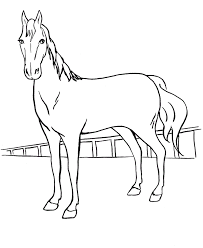 Small Picture horse drawing for kids how to draw a horse for kids step step