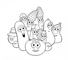 Small Picture Get This Online Veggie Tales Coloring Pages 6q184