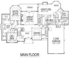unbelievable 5 8000 square feet house plans sq ft homek 8000 square foot house plans