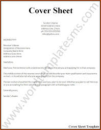 ... Marvelous Cover Sheet For Resume Page Example And Free Maker ...