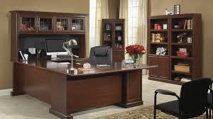 office desk shelving. heritage hill classic cherry office desk shelving b