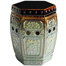 outdoor garden stool. Outdoor Garden Stool The Intricate Pier 1 Embossed Is Beautiful Indoors Or Out .