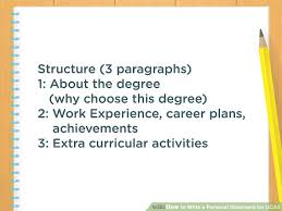 How To Write A Personal Statement For Ucas With Pictures