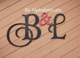 wooden initial monogram initials wooden signs wall decor wooden monogram initials