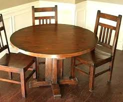 kitchen table. Round Kitchen Tables Solid Wood Table On Intended Beautiful