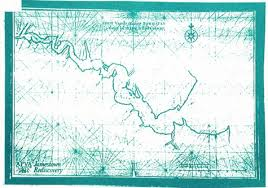 James River Depth Chart Vingboons Chart Of The James River Virginia Institute Of
