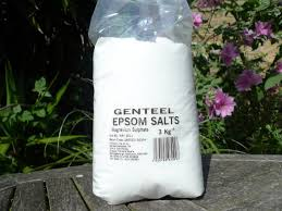 i recently lugged home this 3kg bag of epsom salts from the garden pharmacy in covent garden where it costs 6 for this huge bag
