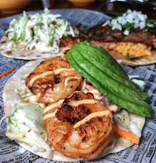 seafood tacos at Chicago Taco Authority ...