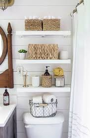 country bathroom ideas for small bathrooms. 13 Quick And Easy Bathroom Organization Tips | Bathrooms Pinterest Small Bathroom, Toilet Shelves Country Ideas For I