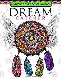Books About Dream Catchers Dream Catcher Volume 100 Flower Mandalas Stress Relief Coloring 17