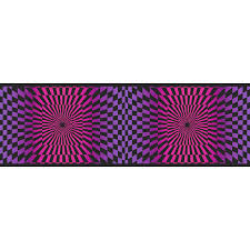 sanitas 6 7 8 funky optics prepasted wallpaper border