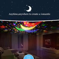 Night Stars Bedroom Lamp Amazoncom Ecandy Constellation Night Light Projector Lamp 360