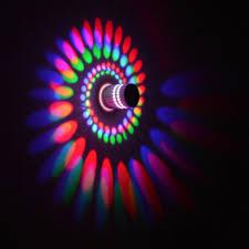 Latest Cute <b>Led Wall</b> Light <b>Wall</b> Lamp Spiral Effect Lights With ...