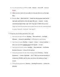 autodock procedure 7 4
