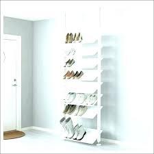 hanging shoe organizer target hanging shoe rack storage wall unit mounted racks for closets living room hanging shoe organizer target