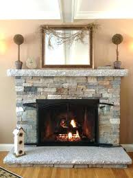refacing a brick fireplace with stone veneer fireplace refacing stone veneer s resurface brick refacing a brick fireplace with stone