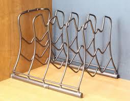 Plate Storage Rack Kitchen Counter Amp Cabinet Pan Organizer Shelf Rack Kitchen Cookware