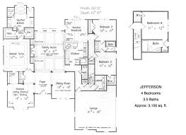 bedroom ranch house plans plan wnd