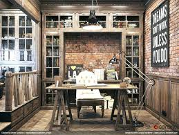 masculine home office. Masculine Office Decor Design Decorating Home Ideas . F