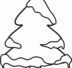 Small Picture Pine Tree Coloring Pages Winter Coloring Page For Kids Of Three