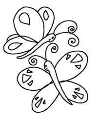 Simple Colouring Pictures Coloring Pages Kids Picture To Color