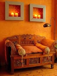 Small Picture Red paint Indian interiors and Paint walls on Pinterest