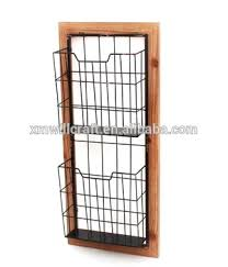 magazine rack office. Office Furniture Metal Wire Wall Hanging Magazine Holder Mounted Rack