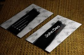 Free Download Black Shadow Unique Business Cards 21