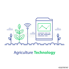 Stem Stock Chart Smart Farming Agriculture Technology Plant Stem And Report
