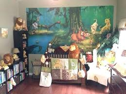 baby nursery baby lion king nursery decor room ideas with matching wall decal show
