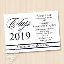 2018 High School College University Graduation Invitations