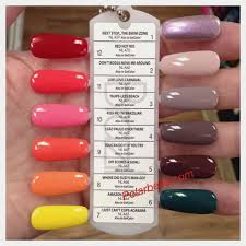 nail colors simple opi polish and names photos