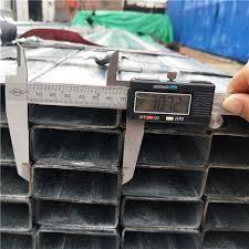 China Minjie A001 Pre Galvanized Rectangular Tube