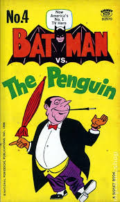 penguin batman original comic.  Original Batman Vs The Penguin PB 1966 Signet 11ST Inside Original Comic H