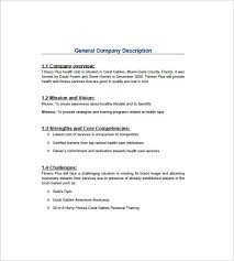 Personal Trainer Business Plans Gym Business Plan Template 13 Free Word Excel Pdf Format