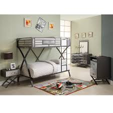 Overstock Bedroom Furniture Sets Carter 5 Piece Twin Bunk Bed Bedroom Set Free Shipping Today