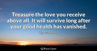 Good Health Quotes BrainyQuote Interesting Message For My Healthcare And Love