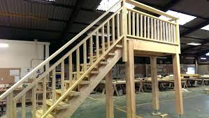 prefabricated exterior wood stairs photos freezer and stair