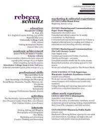 Creative Resume Writer Resume Entry Level Resume